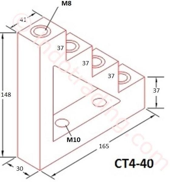 Step Insulator Ct4-40