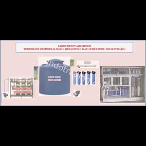Export Drinking Water Machine-10M3 Indonesia