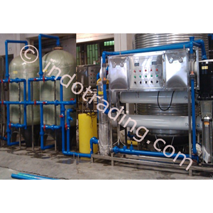 Export Brackish Watertreatment Machine 60M3pd Indonesia