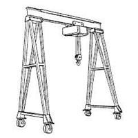 Gantry Crane Hoists  2 Ton
