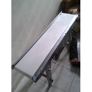 Flat Belt Conveyor SUS 304 - Food Grade