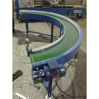 Flat Belt Conveyor - Curve