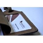 LUGGAGE TAG/ID Card Holder Kulit 1