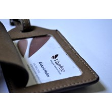 LUGGAGE TAG / ID Card Holder Leather