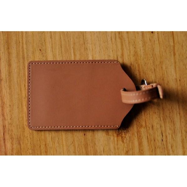 LUGGAGE TAG/ID Card Holder / Name Tag Kulit