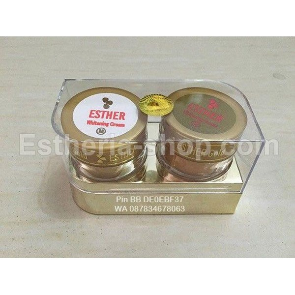 Cream Esther Gold Mika Original Whitening
