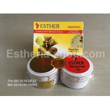 Cream Esther Gold Asli Paket Sabun Batang