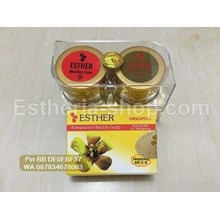 Cream Esther Gold Mika Exclusive Paket Sabun Batang