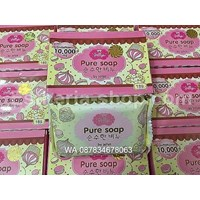 Pure Soap Jellys Whitening Original Thailand BPOM Cheap 5