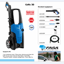 Vacuum Cleaner Fasa Celtic 20