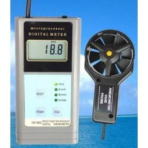 Pengukur Kecepatan Angin Am-4838 Anemometer