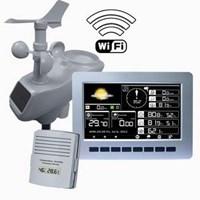 Pengukur Statiun Cuaca Wireless Professional Aw003 1