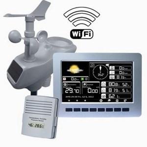 Pengukur Statiun Cuaca Wireless Professional Aw003