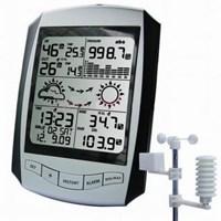 Pengukur Stasiun Cuaca Wireless Professional Dengan Rcc Jam Aw001 1