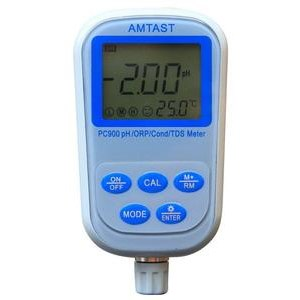 Alat Ukur Tingkat Keasaman Air 7 In 1 Professional Ph Orp Konduktivitas Tds Suhu Meter Pc900