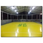 Konstruksi Lapangan Futsal (lantai karet) 2