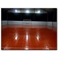 Dari Konstruksi Lapangan Futsal (lantai karet) 3