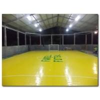 Dari Konstruksi Lapangan Futsal (lantai karet) 1