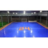 Dari Konstruksi Lapangan Futsal (lantai karet) 5
