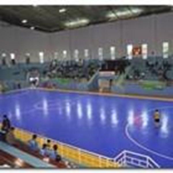 Konstruksi Lapangan Futsal (lantai karet)