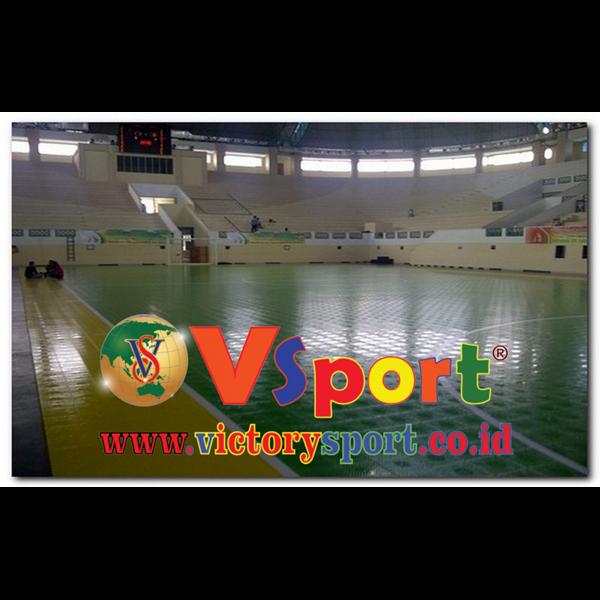Foto Dari Kontruksi Lapangan Futsal 1