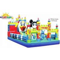 Rumah Balon Mickeycastle 7X11 Mtr (Standart)