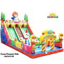 Slide4 crazy Pinguin 7x14x7.5 Mtr (Sliding)