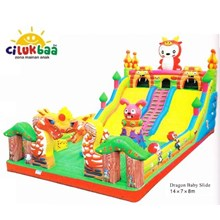 SLIDE4 DRAGON BABY 7X14X8 Mtr (Sliding)