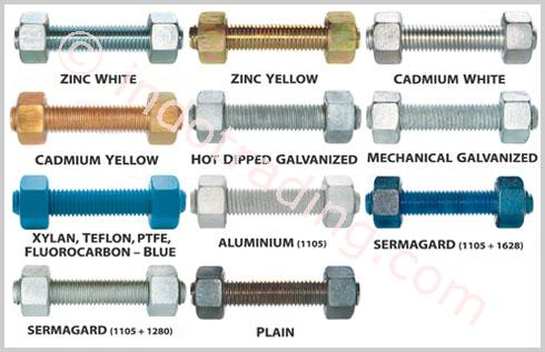 Sell Type Stud Bolt A193 B7 From Indonesia By Toko