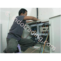 Pemasangan Instalasi Dan Conection Panel 1