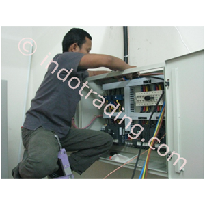Pemasangan Instalasi Dan Conection Panel