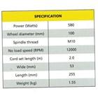 Hand Grinding 580W  Machine 2