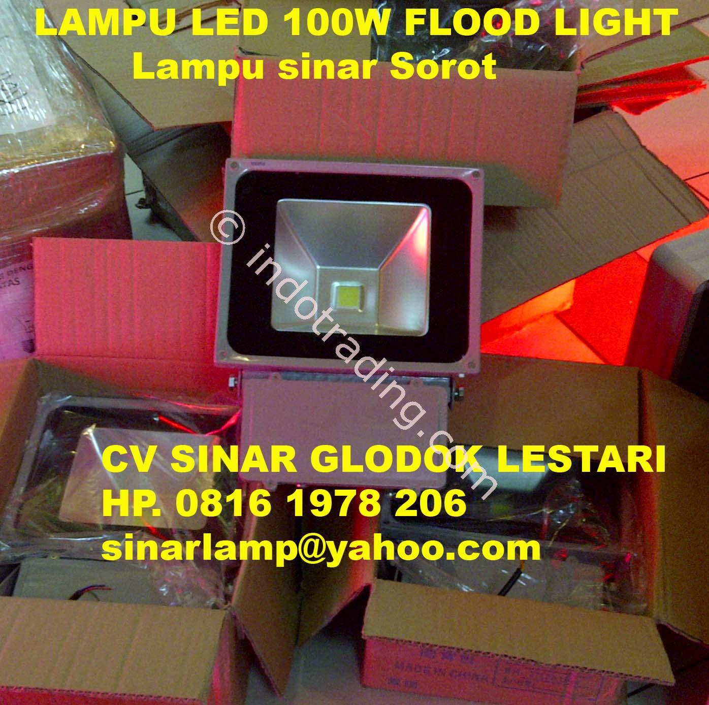 Jual Lampu Sorot LED 80 Watt Flood Light Harga Murah