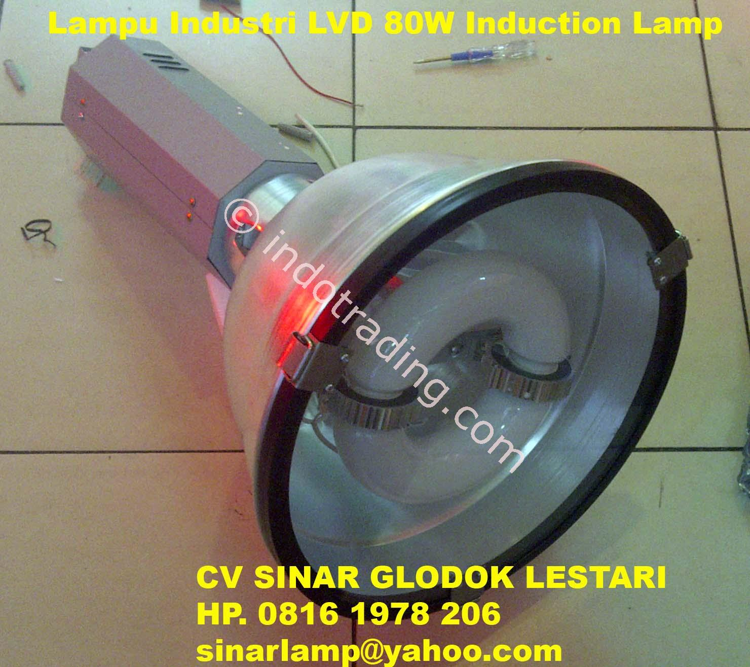 Jual Lampu Industri HDK LVD 80W Tutup Kaca Safety Glass