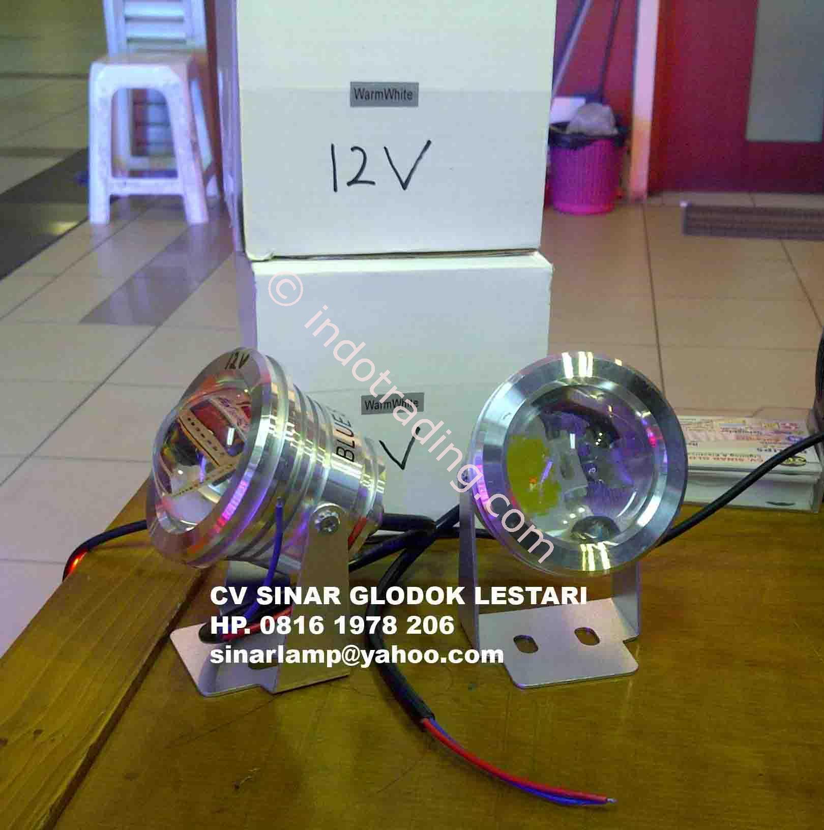Jual Lampu Kolam Led 10 Watt 12V Underwater Harga Murah