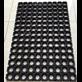 Karet lantai lubang (produk karet rumah tangga)