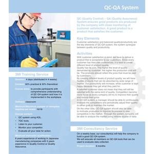QC-QA System By PT Manajemen Manufaktur Indonesia