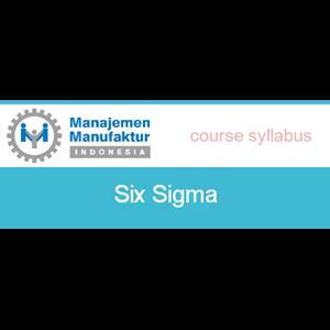 Six Sigma By PT Manajemen Manufaktur Indonesia