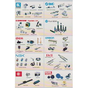 -Fuji Elektrik - Bearing -Smc -Oriental Motor -Sumitomo -Scheneider -Abb -Ckd -Idec -Asco -Omron