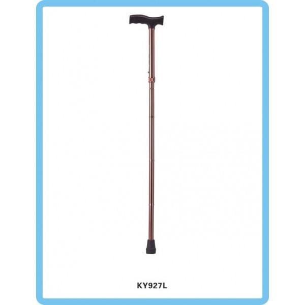Peralatan Medis Lainnya Tongkat Lipat Kaki Satu Crutch Tipe KY927L