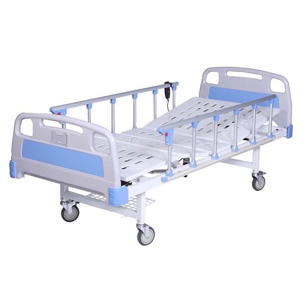 Peralatan Medis Lainnya Ranjang pasien 1 crank deluxe ABS