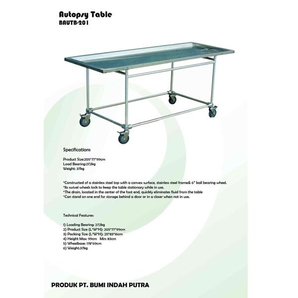 AUTOPSY TABLES
