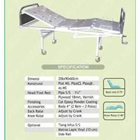 Peralatan Medis Lainnya Hospital Bed 2 Crank murah