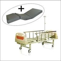 Jual Tempat Tidur Pasien Ranjang Pasien 2 engkol