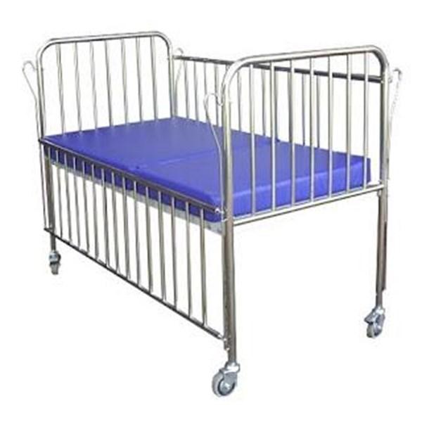 Tempat Tidur Pasien Ranjang Pasien Anak 1 engkol stainless