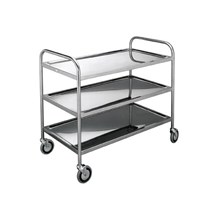 INSTRUMENT TROLLEY STAINLESS