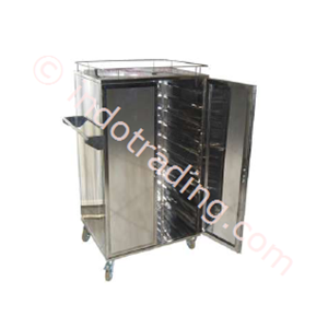 Rak Troli Tray Trolley Food Trolley 24 Tray