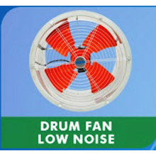 Drum Fan Low Noise