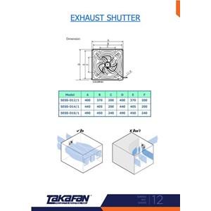 Exhaust shutter
