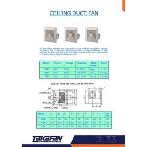 Ceiling Duct Fan
